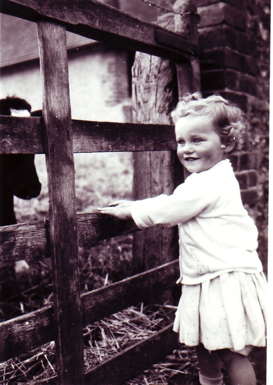 Sarah aged 3