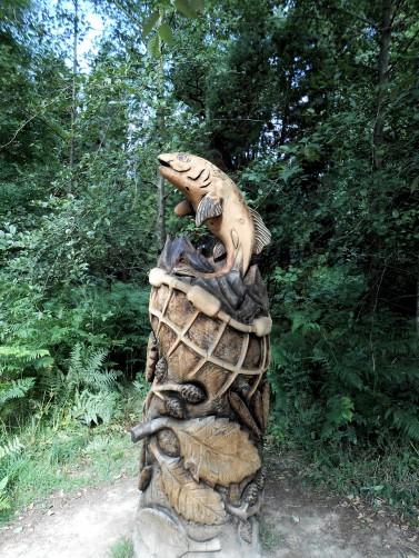 WakehurstFishWoodcarving