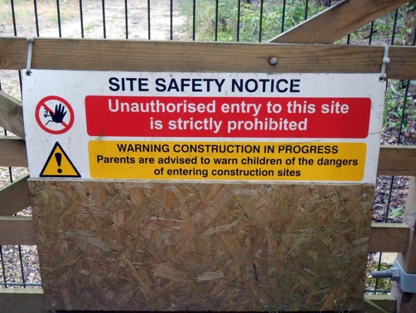 Site Notice 2