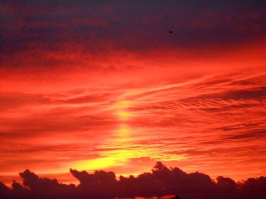 Sunrise Over Sea 01
