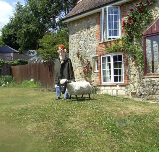 Wallace & Shaun the Sheep