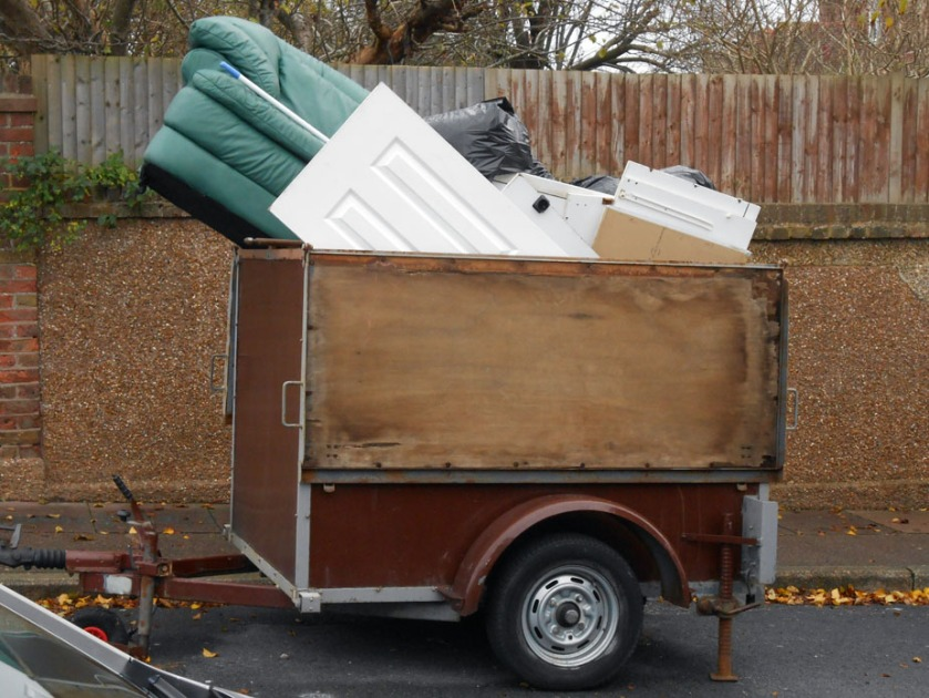 Two-wheeled trailer