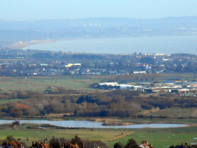 Bay view from South Downs