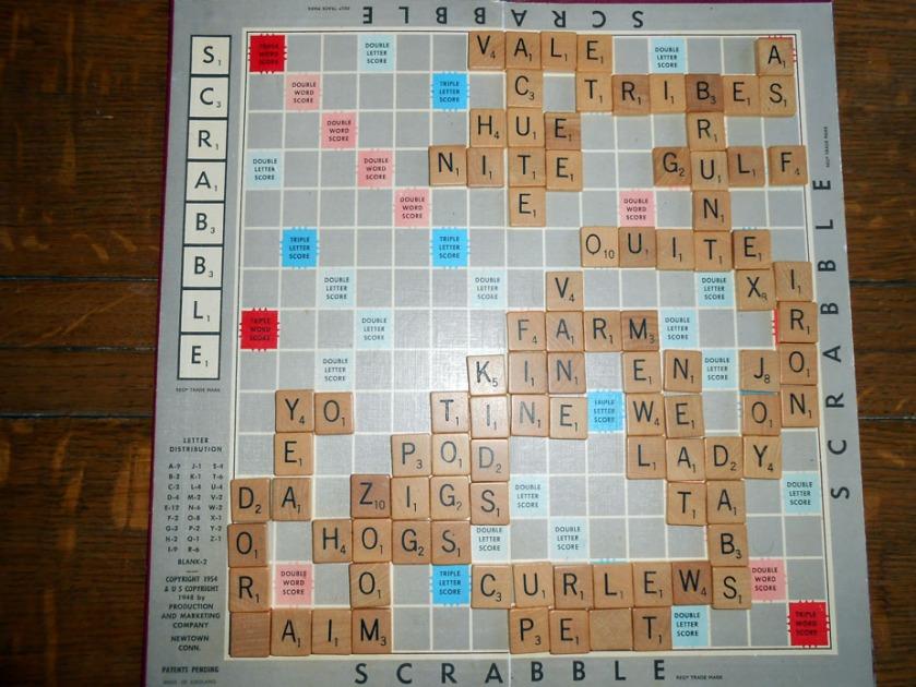 Scrabble Tournament 28th March, 2016